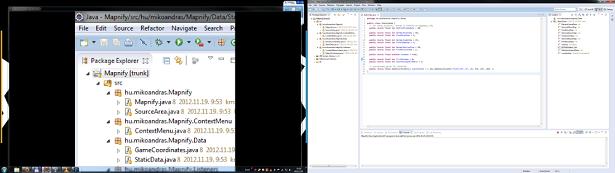 Mapnify indító képernyő